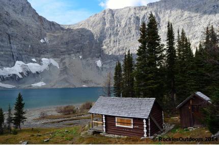 Floe Lake Warden Cabin