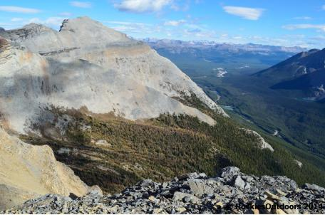 North to Lake Louise