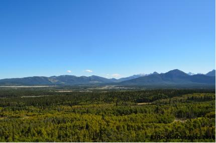 View from Yamnuska Bluffs
