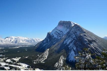 Mount Rundle seen from Tunnel Mountain