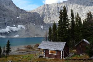 Floe Lake Warden Cabin
