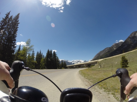 Joining the Bow Valley Parkway